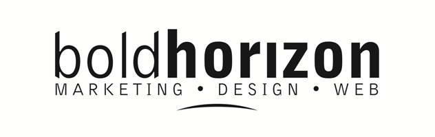 Bold Horizon graphic design